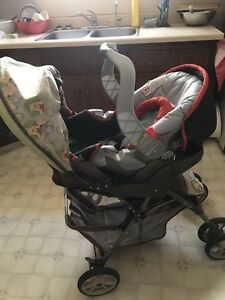 Graco car seat with base and Stroller for sale
