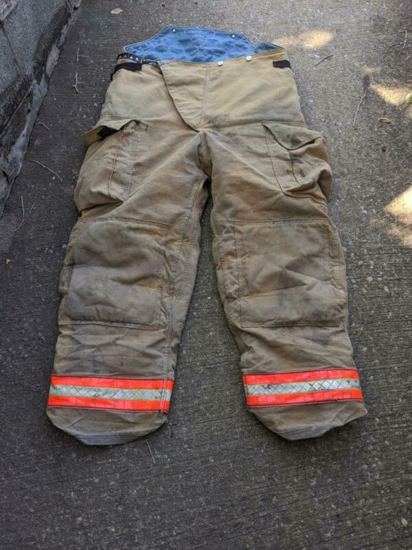 Globe Turnout Pants Firemans Bunker Pants 42/32