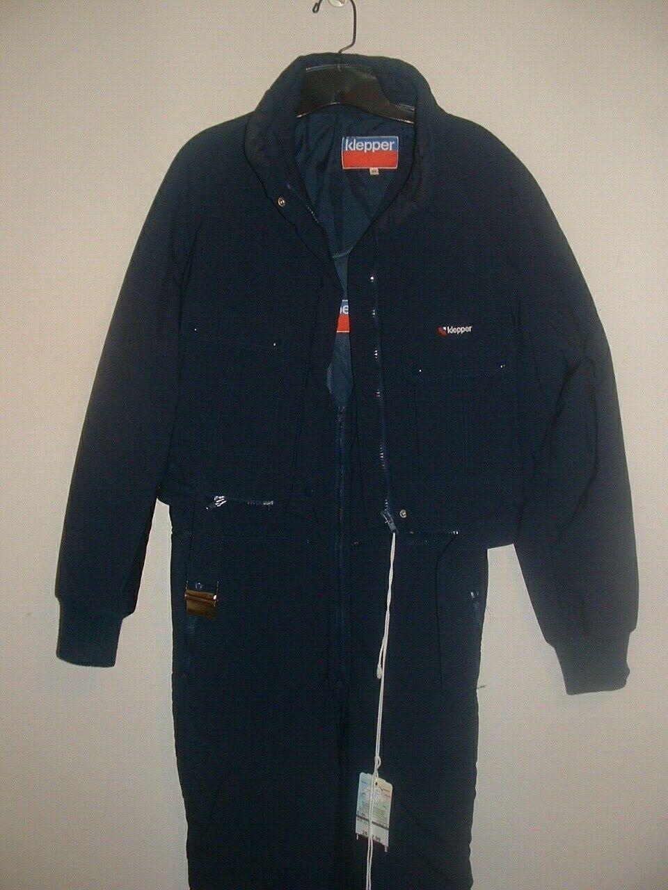 NWT Klepper 2 pc Ski Snowsuit Jacket plus Bibs women Size M/