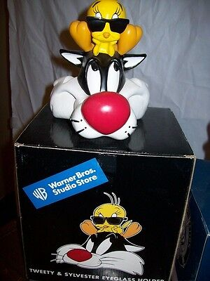 WB Looney Tunes Sylvester Tweety Sunglass Holder with box