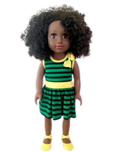 "ZUREE - Toya Patois (Patwa) Talking Jamaican Black Doll - 18"" inch"