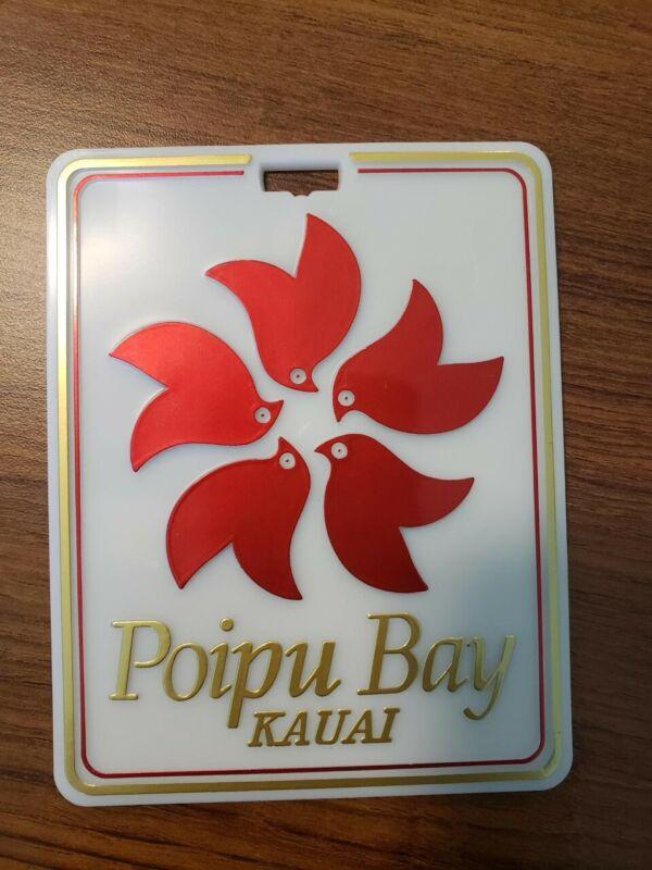 NEW Poipu Bay Golf Bag Tag