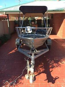 Stacer 12Ft Tinny Boat with new 20HP Mercury motor Echuca Campaspe Area Preview
