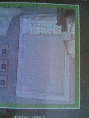 nib nice white vinyl retractable blind shade