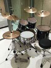PEARL FUSION DRUM KIT AS NEW BOUGHT 2 MONTH AGO North Bondi Eastern Suburbs Preview