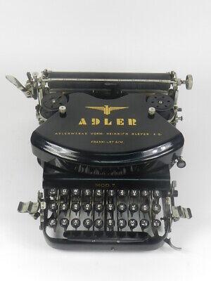 MAQUINA DE ESCRIBIR ADLER Nº7 AÑO 1910 TYPEWRITER SCHREIBMACHINE