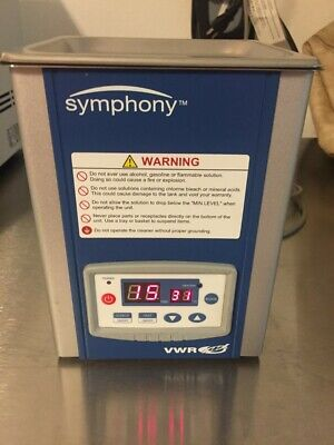 Symphony Vwr Ultrasonic Cleaner