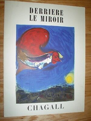 MARC CHAGALL - Authentic Cover Lithograph From DLM 27-28