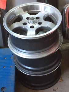 set of 4 mag wheels Kallangur Pine Rivers Area Preview