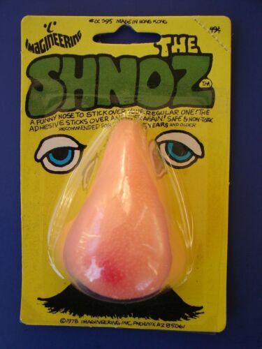 MOC VTG 1977 Imagineering THE SHNOZ -Johnson Smith Catalogue Co Halloween Nose