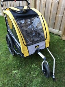 3 in 1 Bike trailer stroller & jogger