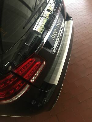 Für Mercedes E Klasse W212 Kombi ab 2009 Ladekantenschutz aus Edelstahl Chrome