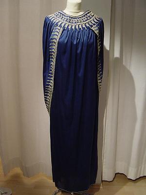 Ägypterin Kostüm Gewand edel blau gold Kleopatra Kleid aus Fundus - Goldene Kleopatra Kostüm Mädchen