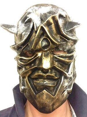 Römischer Gladiator Maske Metallisch Style Warrior Crowe Halloween Party Masken ()