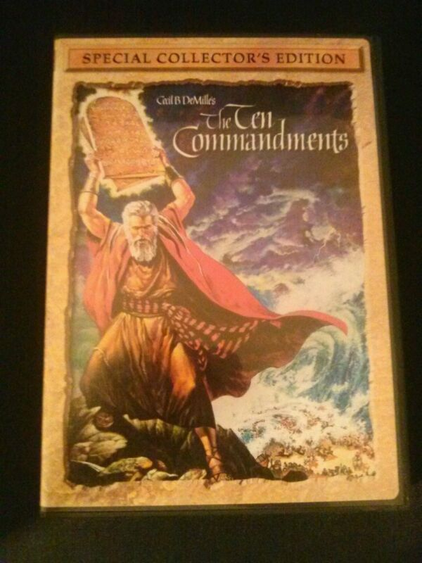 The Ten Commandments (DVD, 2004, 2-Disc Set, Special Collector's Edition) Bible