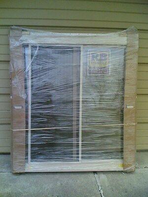 "BRAND NEW: Nice Reliabilt TAN VINYL House SLIDER WINDOW ( 46"" W x 52"" H )"