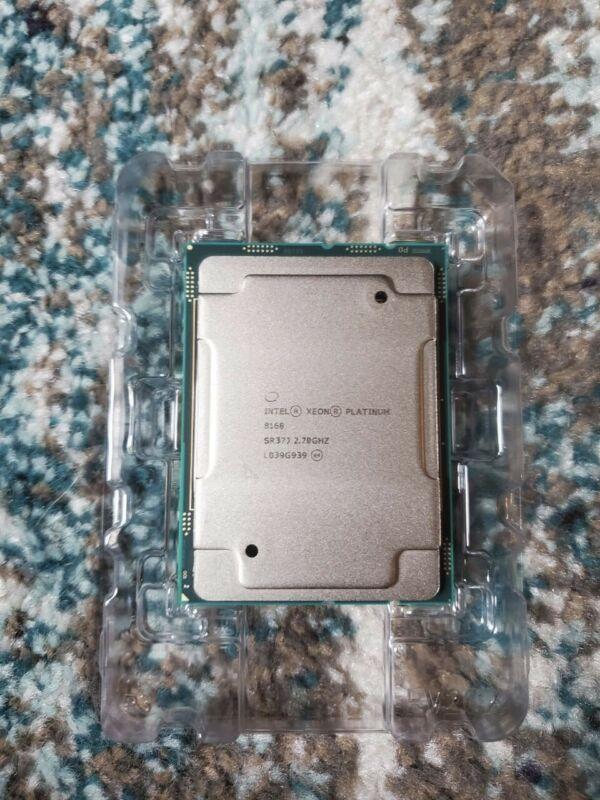 Intel Xeon Platinum 8168 24 Core 48 Thread 2.70 GHz CPU