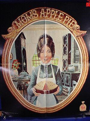 MOM'S APPLE PIE - Scarce, Original Record Store Promo Poster w/ Censored Artwork