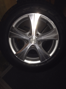 4 X  speedy mags with brand new 215/60/16c yokohama tyres Perth Perth City Area Preview
