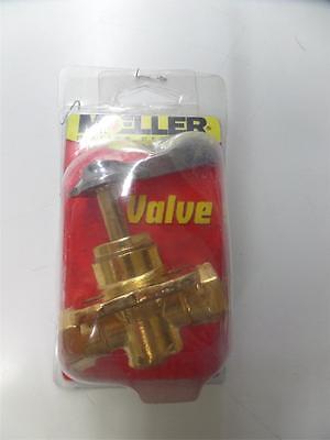 """MOELLER Brass fuel tank valve, 3/8"""", # 33312-10"""