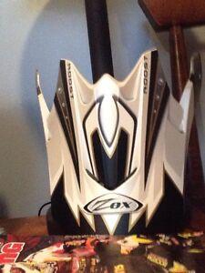 Zox helmet peak
