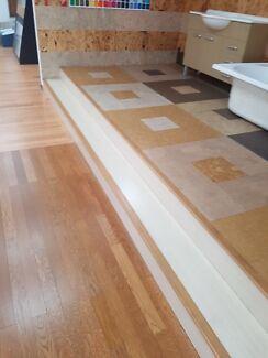 Laminated floor boards installation just from $12/sqm