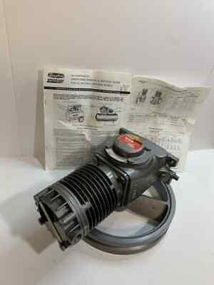 2z203b Dayton Speedaire Compressor Pump One Cylinder And Flywheel