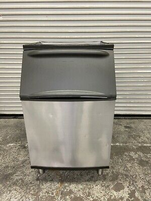 500 Lb Ice Bin Stainless Steel Insulated Front Load Nsf 30 Manitowoc B570 4016