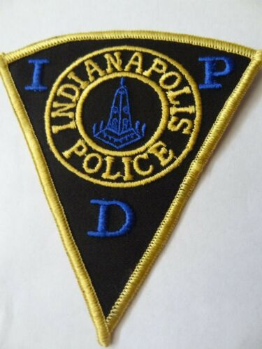 INDIANAPOLIS POLICE  DEPARTMENT   SHOULDER PATCH .