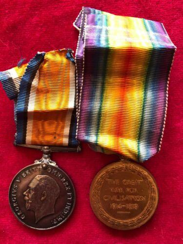 31 Canadian Infantry, medal pair, Alberta Regiment