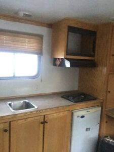 24x8 enclosed office trailer