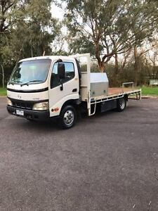 HINO DUTRO 300 SERIES 2005 TRAY TRUCK, LOW KMS 185,000kms Croydon Maroondah Area Preview