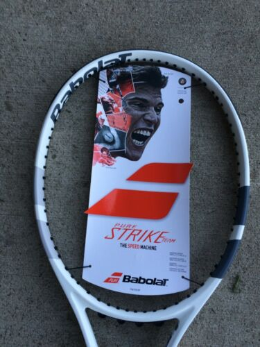BABOLAT PURE STRIKE TEAM 3/8 grip  Tennis Racquet FREE SHIPPING