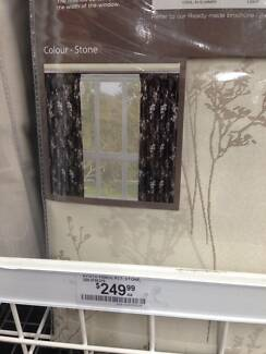 Pencil Pleat Curtains- NEW (Filigree Brand 100% Block out) Woodside Adelaide Hills Preview