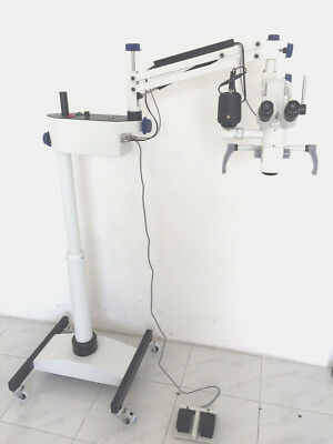 Led Five Step Dental Surgical Microscope Worldwide Shipping