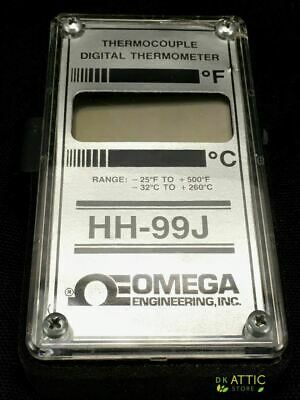 Omega Hh-99j Thermocouple Digital Thermometer - Used Works