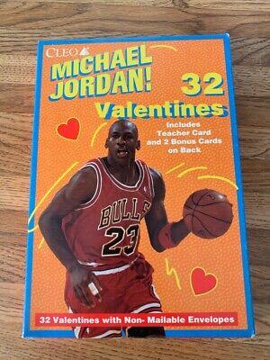 Basketball Valentine's Box (Michael Jordan Valentines Box of 32 with envelopes Cleo Inc.)