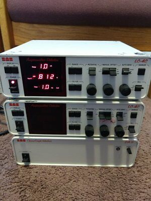 2ea Bas Lc 4c Amperometric Detectors 1ea Bas Da-5 Chrome Graph Interface