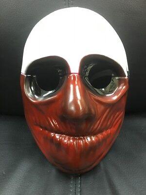 UK Wolf Payday 2 The Heist Erwachsene Maske Halloween Kostüm Cosplay 1 ()