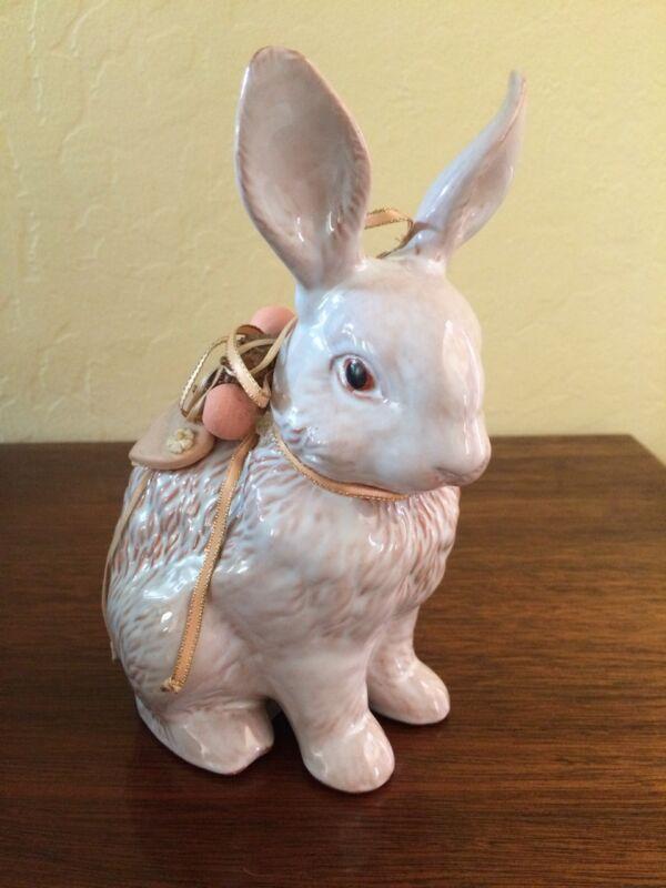 Ceramic Bunny Figurine