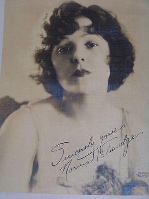 Antique Studio Photograph of Norma Talmadge Early Movie Actress