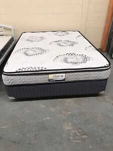 【BRAND NEW】pocket spring sofness eurotop mattress double330 queen350 Blackburn South Whitehorse Area Preview