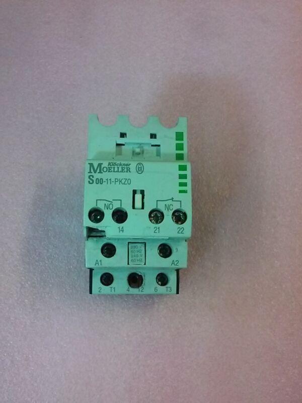 KLOCKNER MOELLER S 00-11-PKZO Magnetic Contactor Module