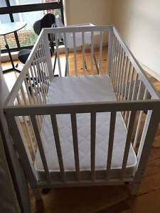 Childcare Mason Cot with cushion Greensborough Banyule Area Preview