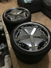 20 inch dolce DC15 wheels and tyres Ngunnawal Gungahlin Area Preview