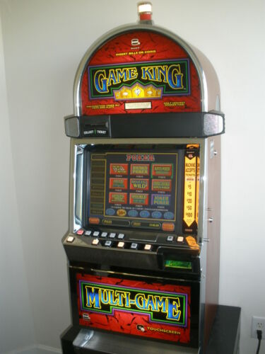 IGT GAME KING 6.8 WITH 96 Games with  KENO, Poker, Blackjack, Slot and New LCD