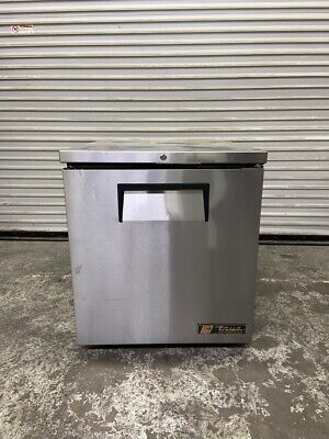 1 Door Under Counter Refrigerator Nsf Cooler True Tuc-27wb-lp-ld 4449 Stainless