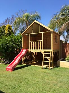 Cubby Houses, Forts, Kids play equipment.