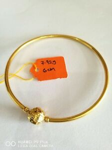 22 k gold Bangle 6cm Pandora style Dandenong South Greater Dandenong Preview