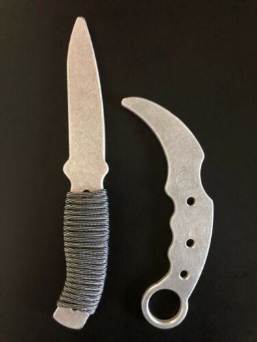 Aluminum Training Knife and Karambit